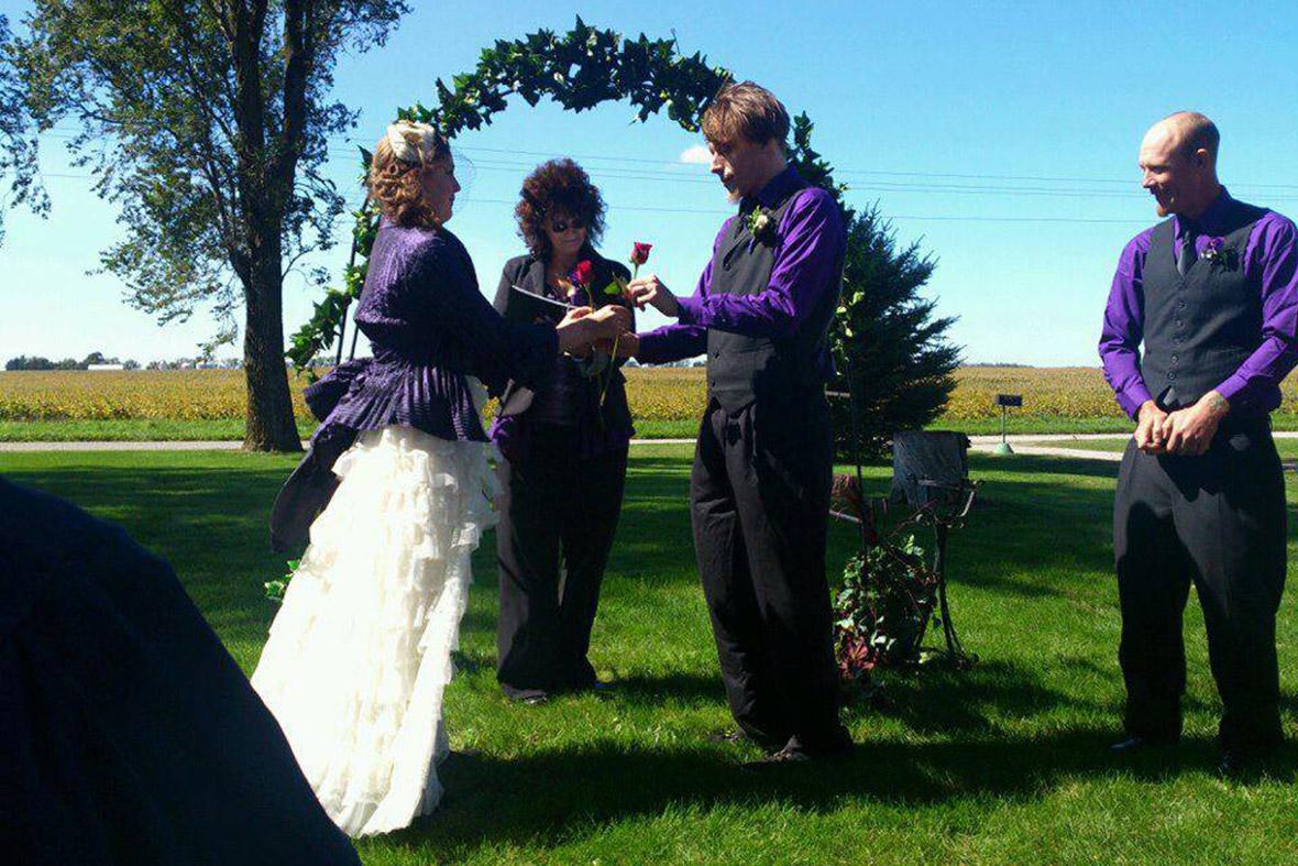 amanda jerad miller wedding