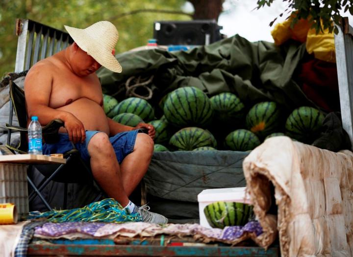 Watermelon Vendor China