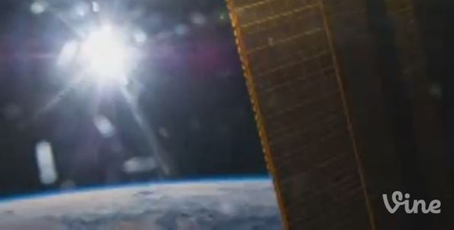 Astronaut Sends First Vine Video from Space