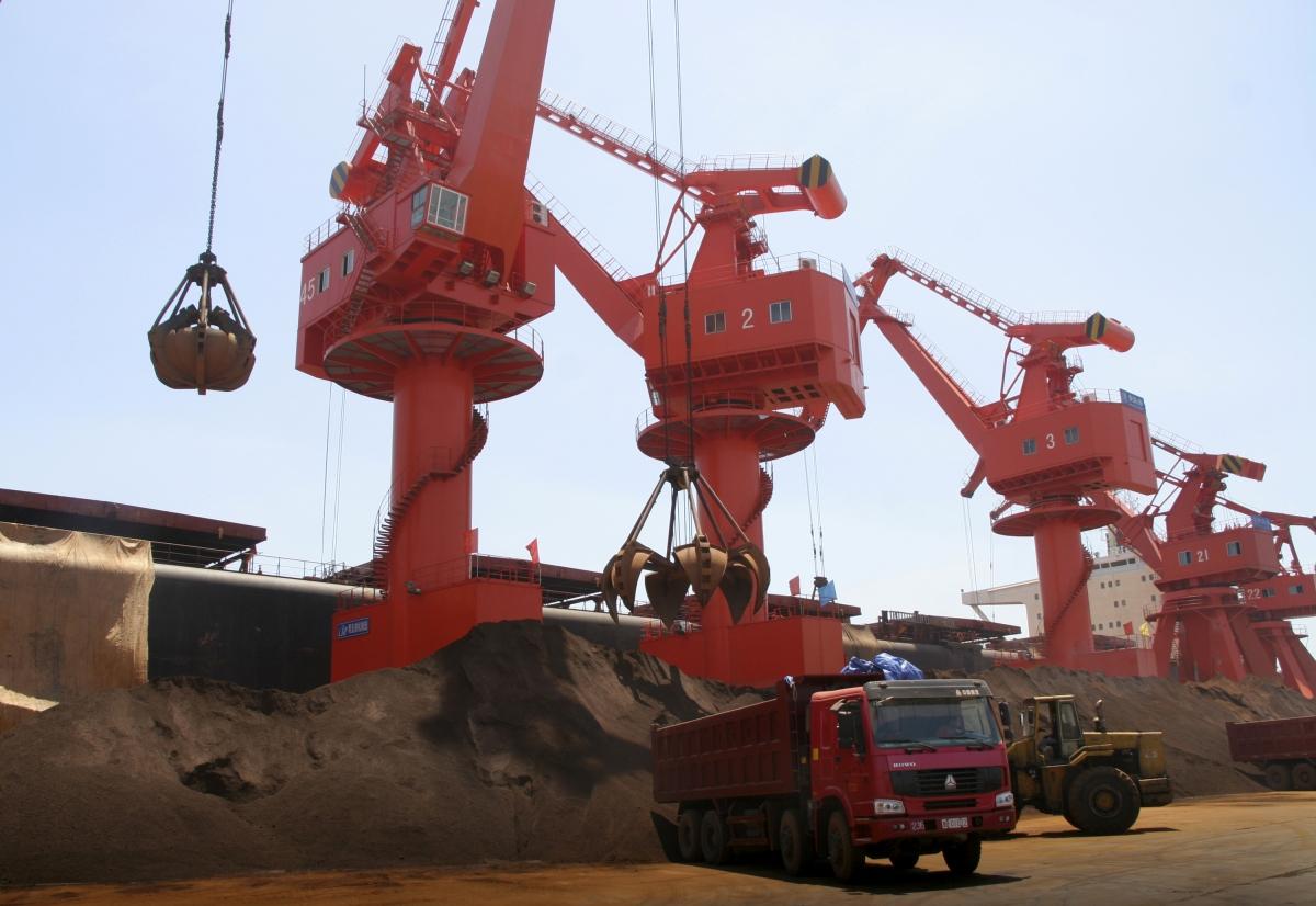 Qingdao port