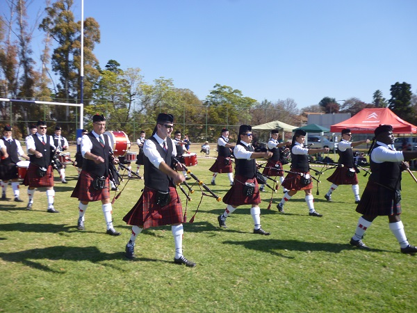 The proud Scots have a long history in South Africa