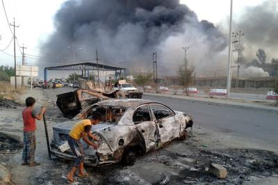 Mosul car