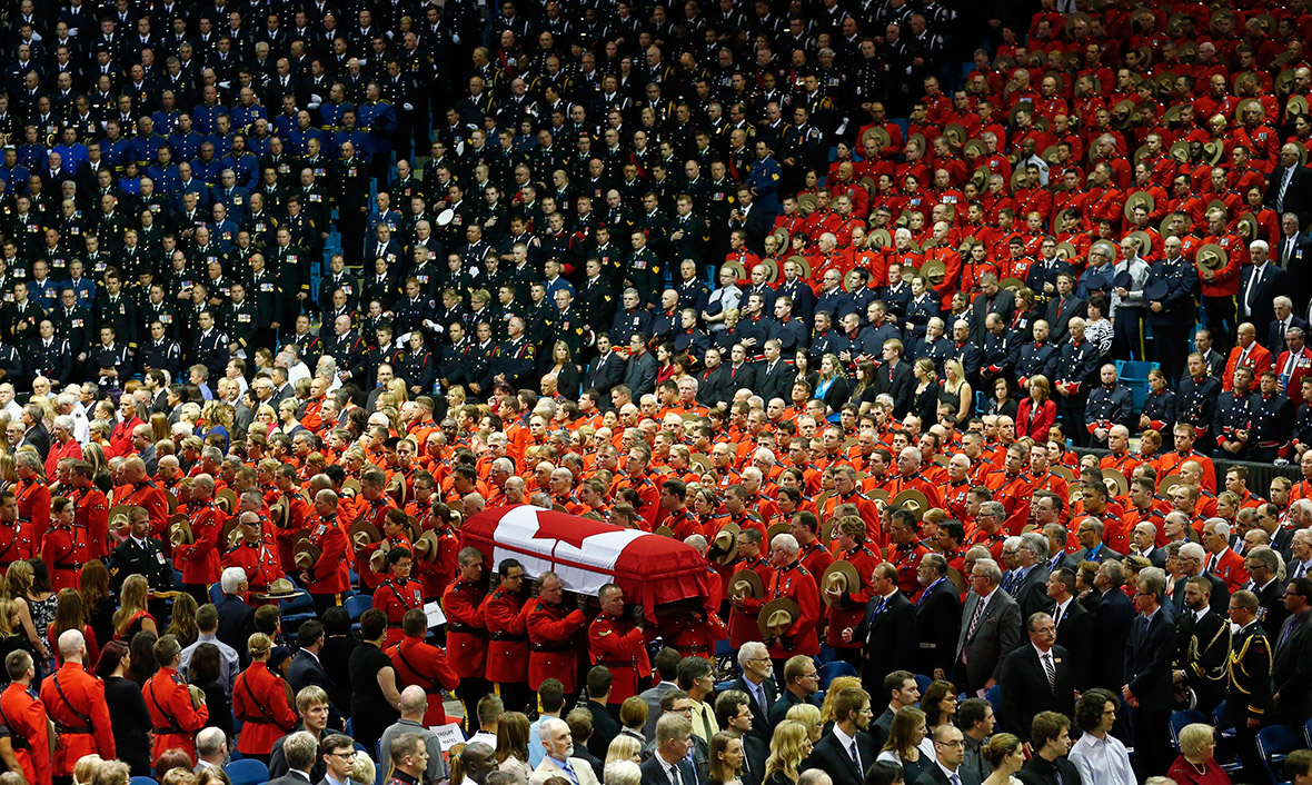 mountie funeral