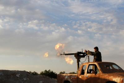 syria truck