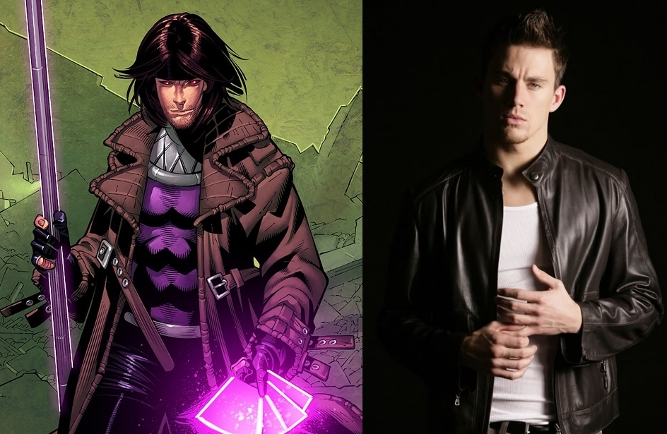 Channing Tatum will play Gambit