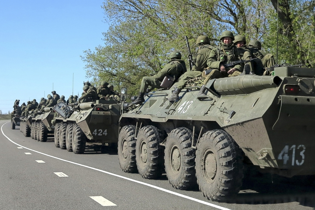Ukraine Mulling to Shut Border with Russia and to Plant Land Mines