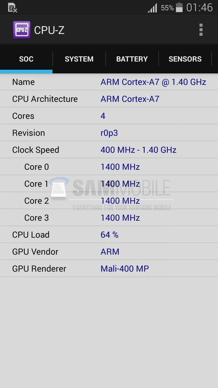Galaxy S5 Mini Spotted in AnTuTu and CPU-Z Tests, New Screenshots Confirm Specs