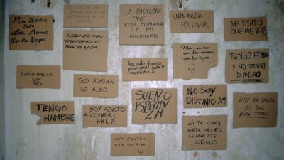 homeless carboard signs