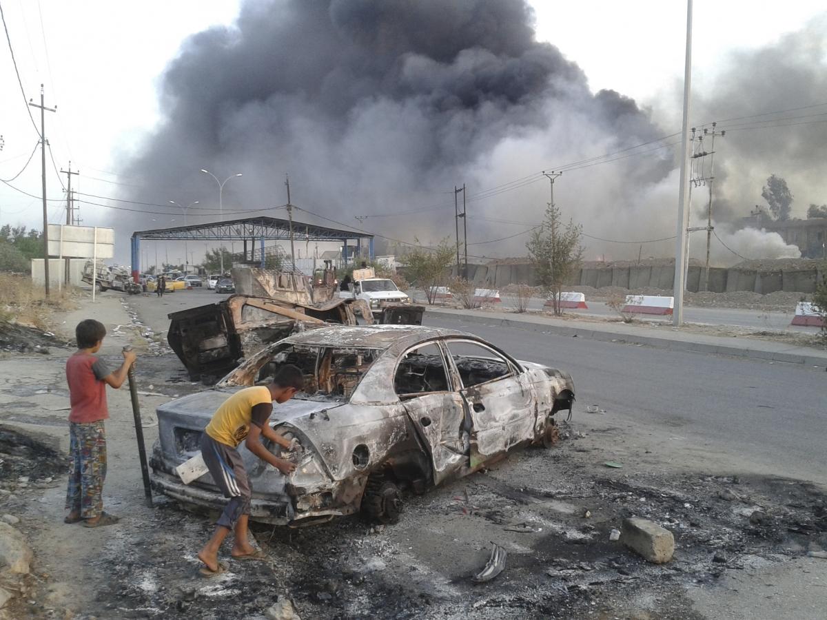 Iraq: Jihadis Loot $429m, Advance into Baiji