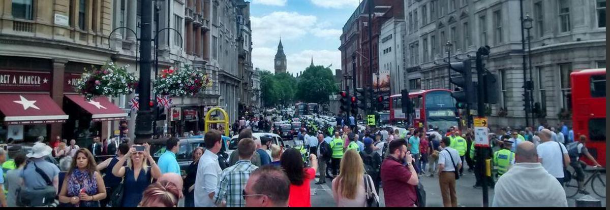 London Black Cab Protest Uber Regulation