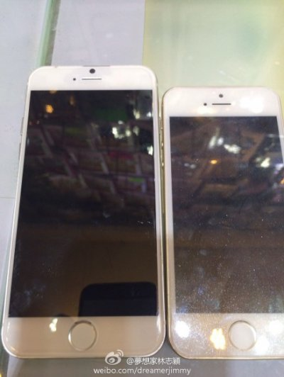 iPhone 6 iphone 5s compared in images