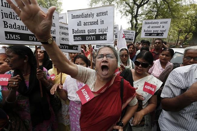 uttar pradesh protest