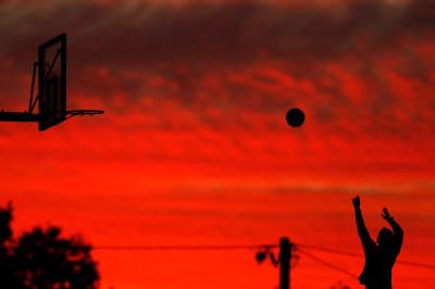 sport sunset