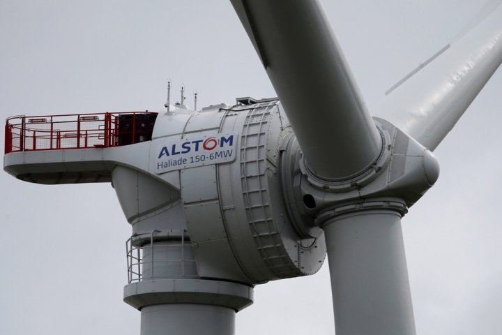 Alstom Offshore Wind Turbine