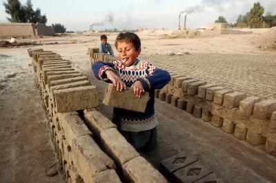child labour brick factory