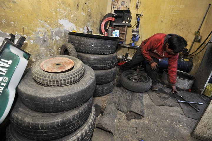 bolivia tyres child labour