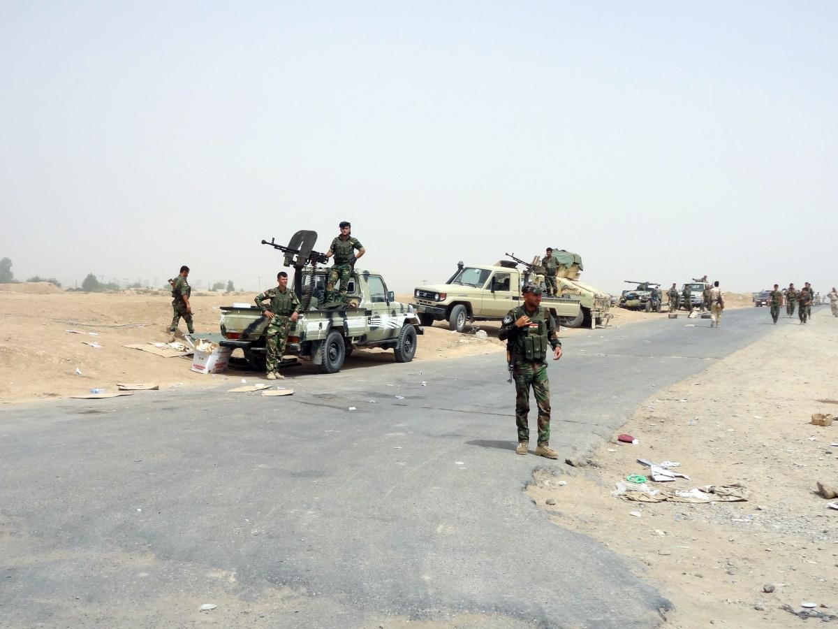 Iraq Kurdish Isis