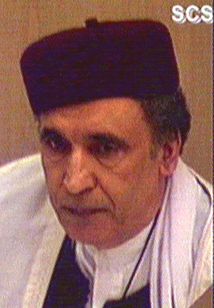 LIBYAN AL-MAGRAHI ATTENDS APPEAL HEARING AT CAMP ZEIST.