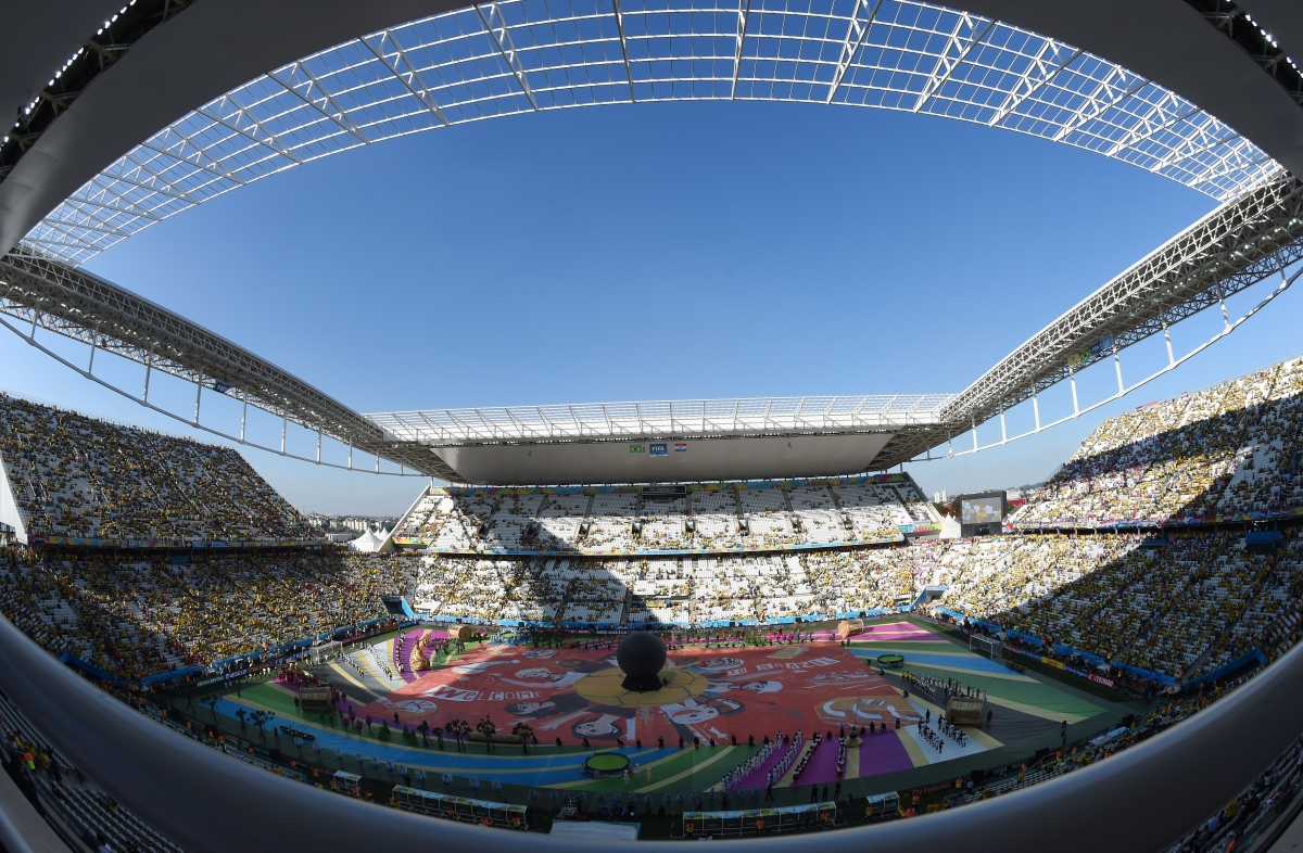 World Cup 2014 opening ceremony