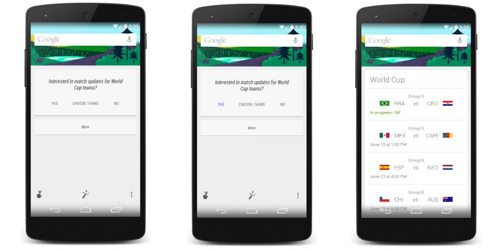 New Google Screenshots Hint at Android 5.0