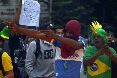 world cup protests brazil 2014 belo horizonte
