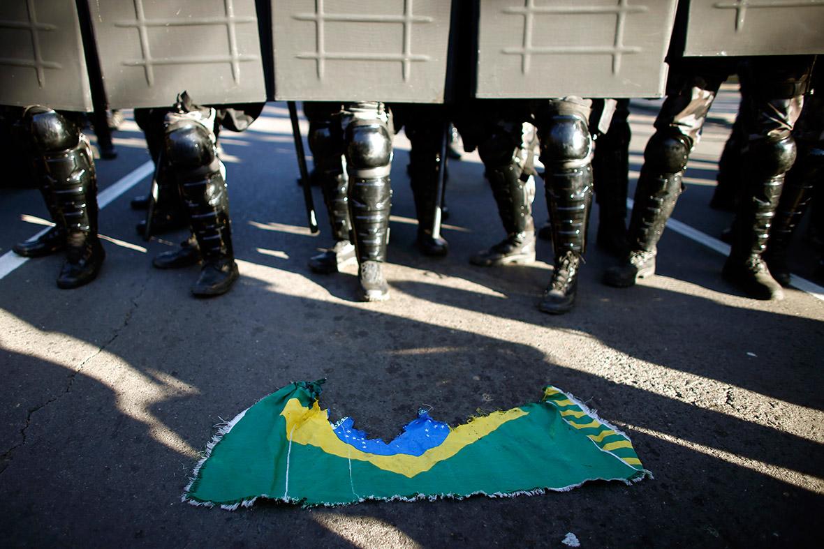 world cup protests brazil 2014 porto alegre