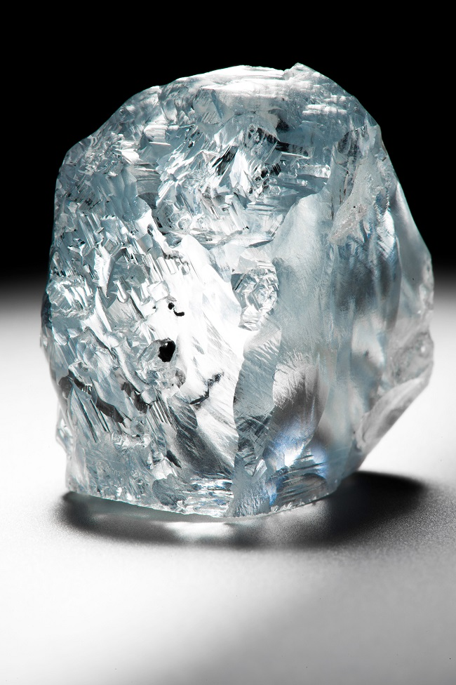 122.52 carat blue diamond unearthed at Cullinan mine in South Africa