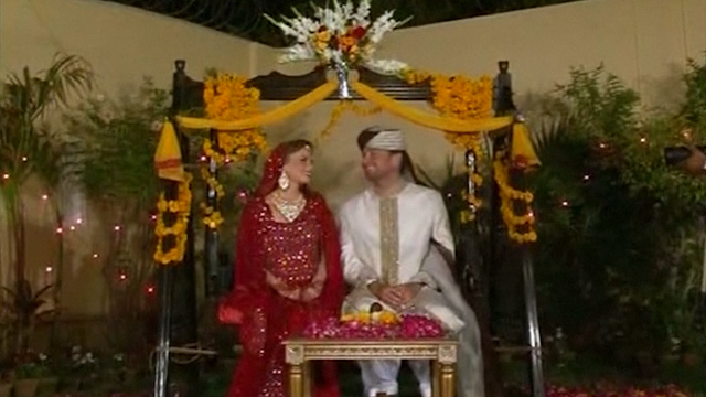 British Couple Gets Married for the 66th Time in Karachi