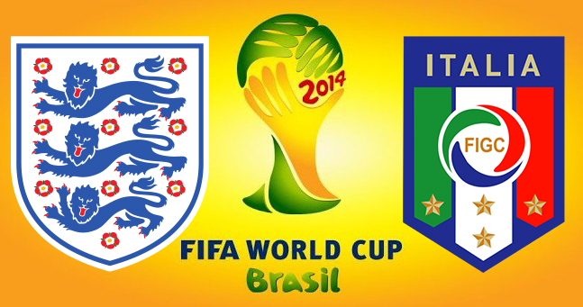 World Cup 2014: England v Italy Preview