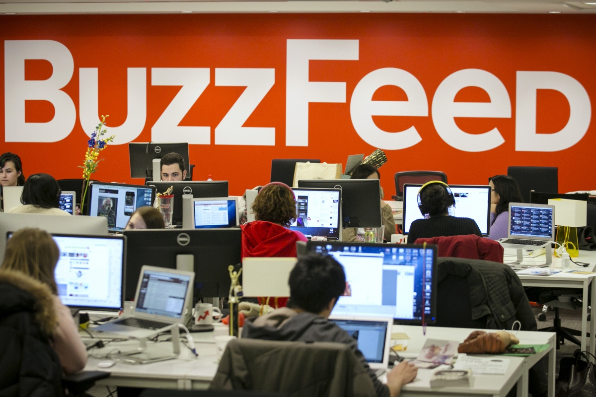 Buzzfeed Tracking Users