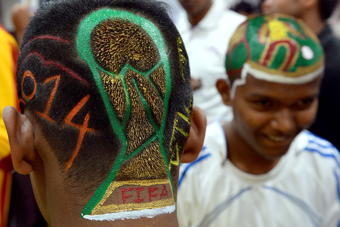 world cup hair