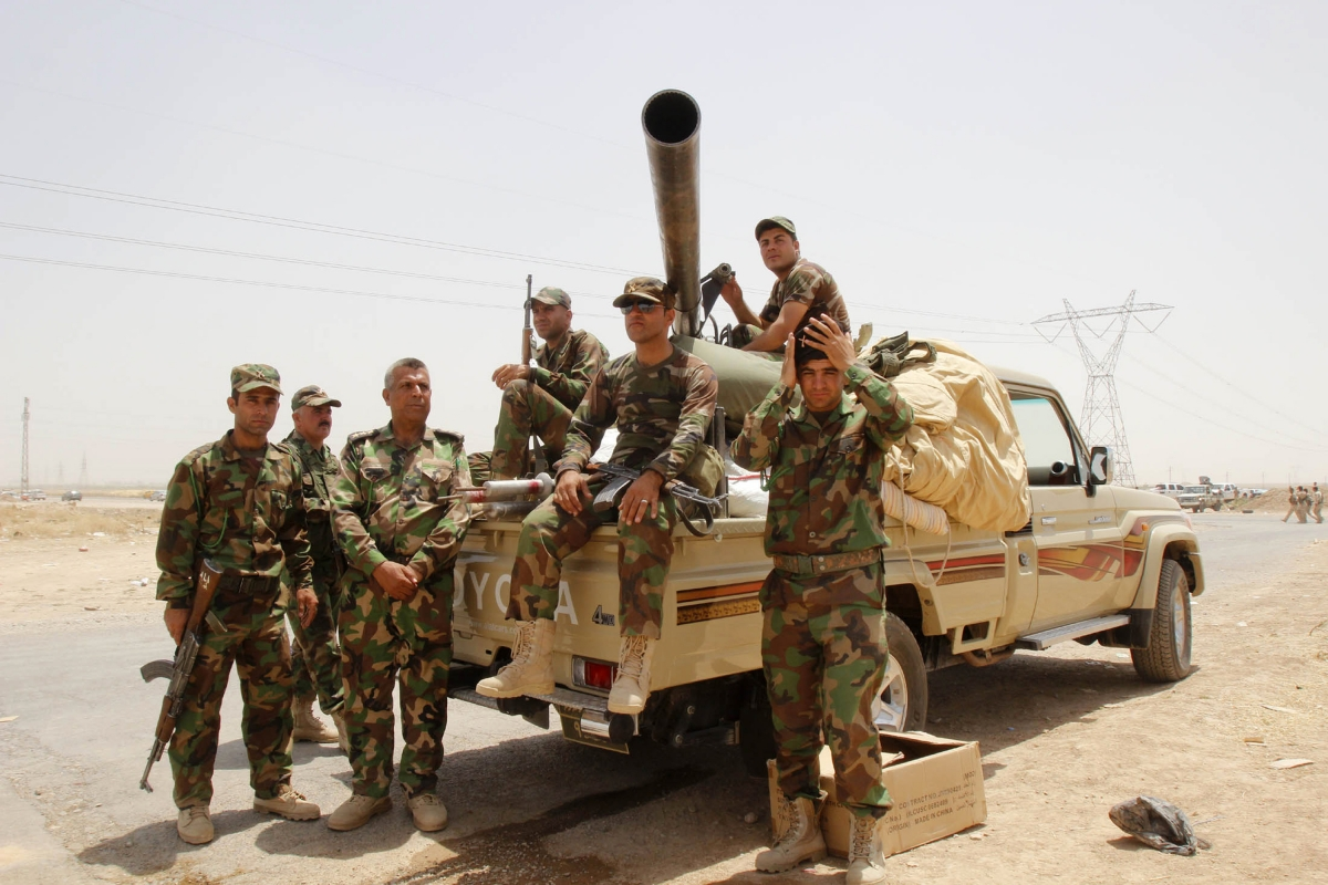 Kurdish forces Kirkuk