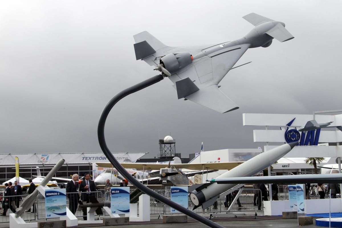 Israeli Defence Firm Comes up Suicide Drones