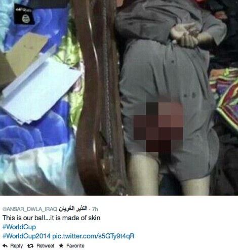 Isis behead man