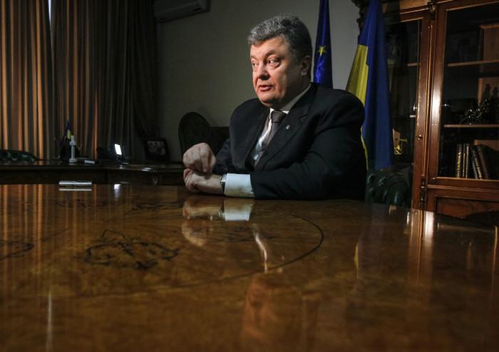 Ukraine Petro Poroshenko