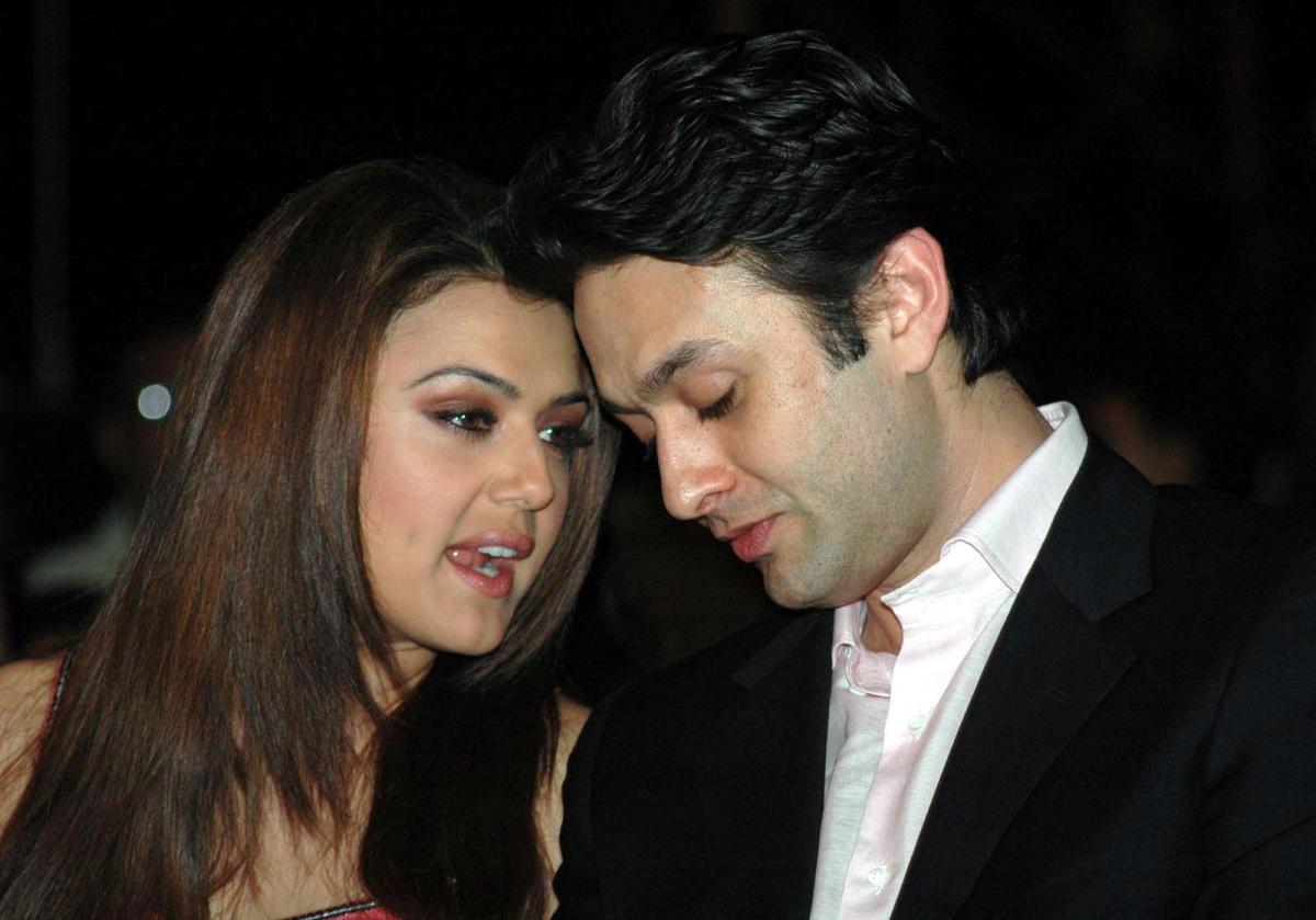 Preity Zinta and Ness Wadia