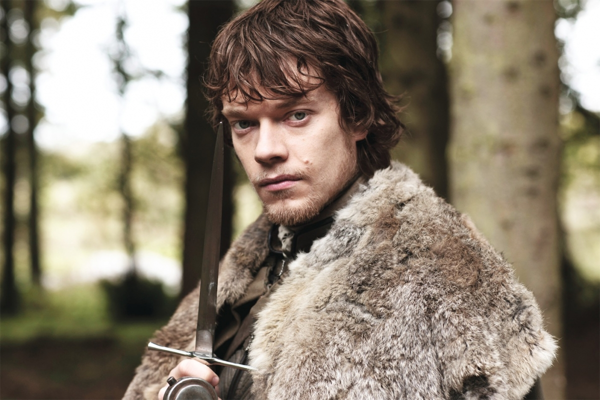 Alfie Allen plays Theon, heir to the Lord Of the Iron Islands in Game of Thrones