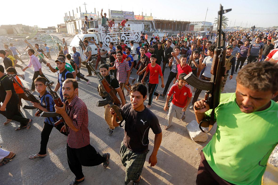 iraq volunteers