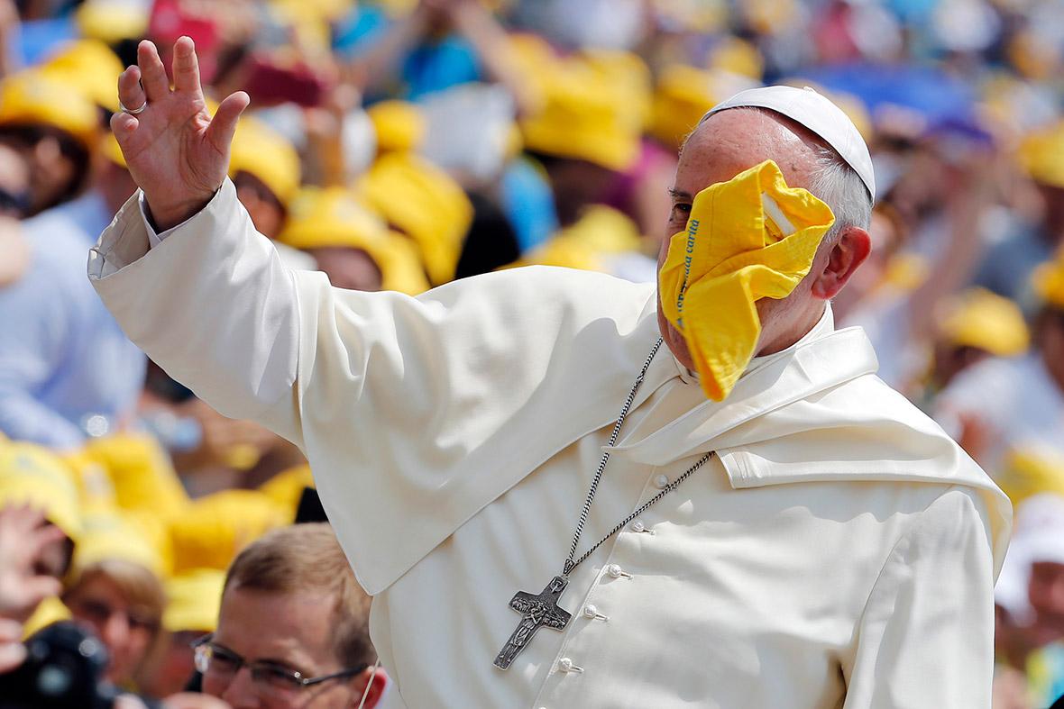 pope cap face