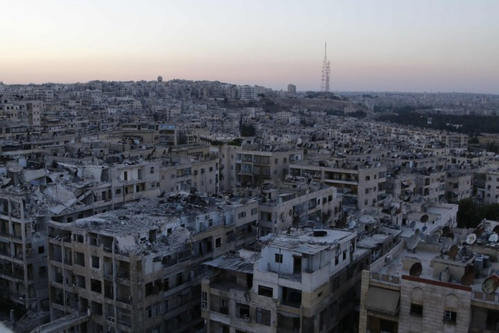Aleppo Civil War Syria