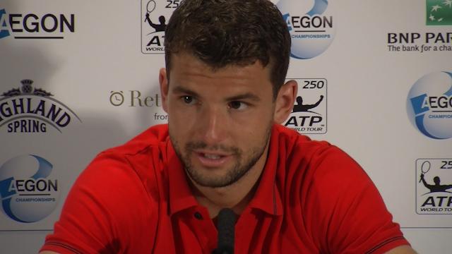 Dimitrov Describes his AEGON Championship Win at Queen's