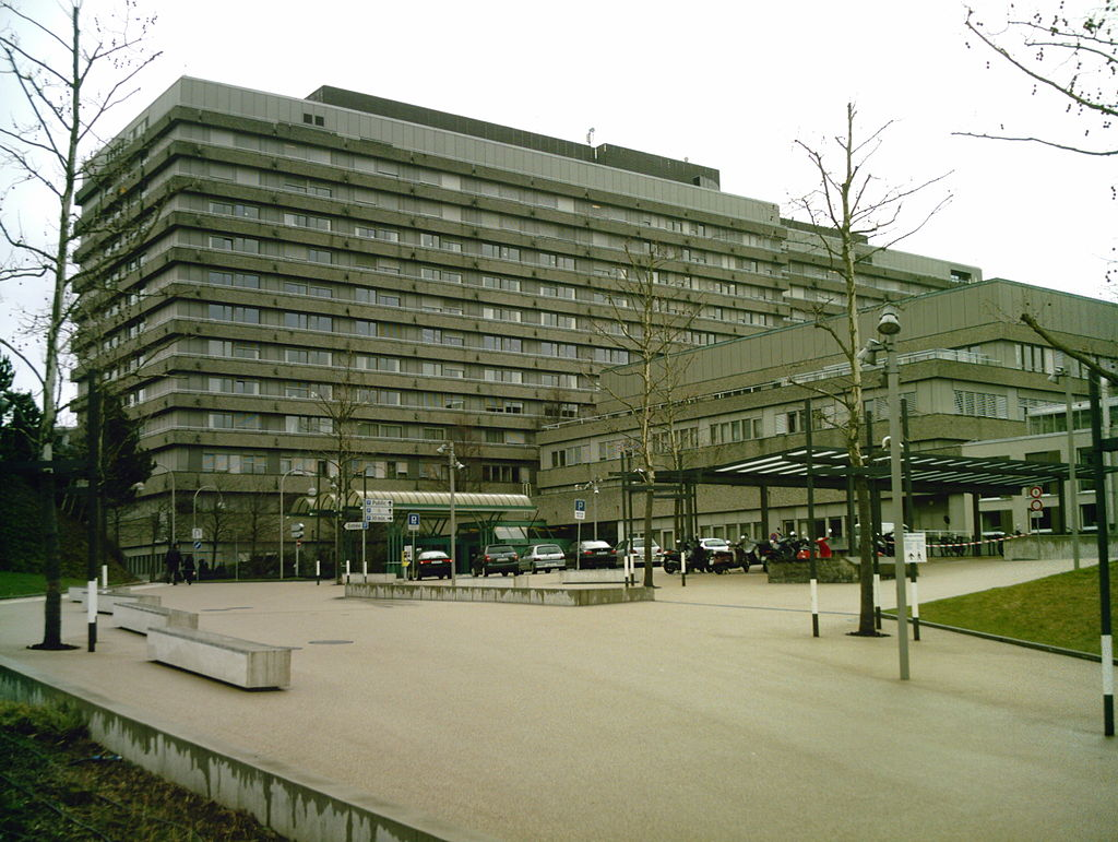 University hospital of Lausanne in France, to where Michael Schumacher has gone after leaving coma
