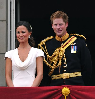 Pippa Middleton and Prince Harry
