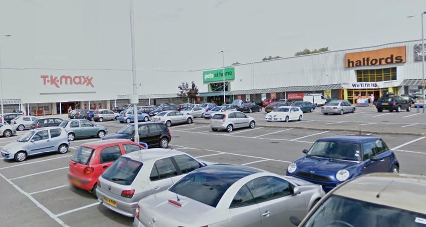 Maesglas Retail Park