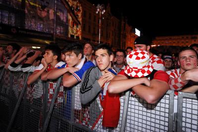 world cup fans croatia