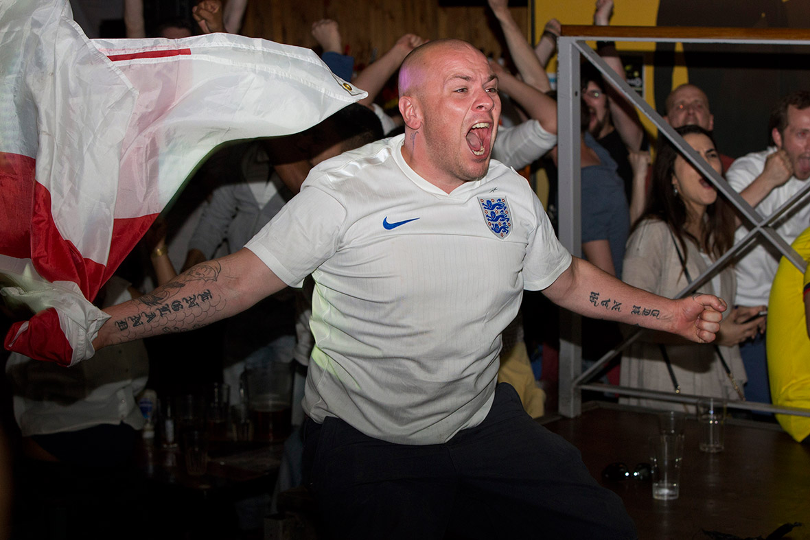 world cup fan England