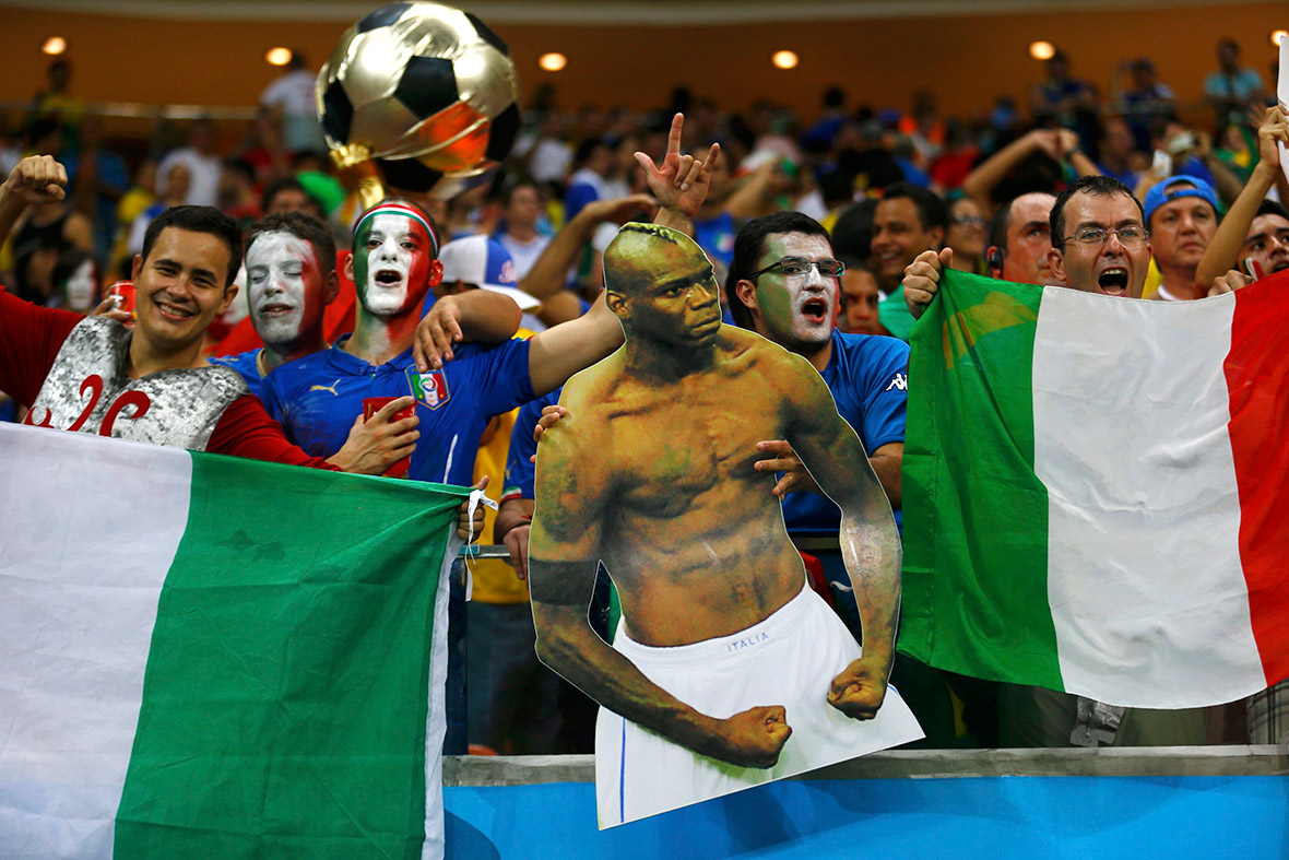 world cup fans italy