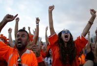 world cup fans netherlands
