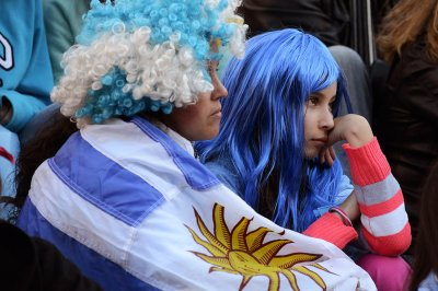 world cup fans uruguay