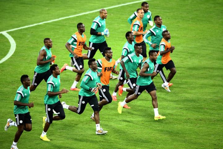 Iran v Nigeria